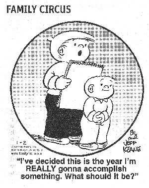 New Year's Resolution for 2012 - Focus