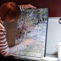 Ketubah, custom art, wedding