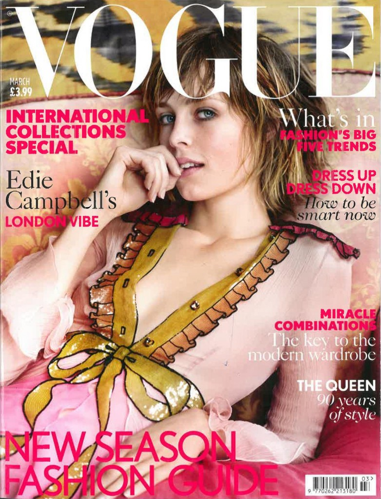 Vogue March 2016 Cover