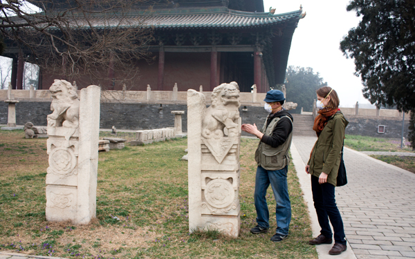 Vancouver Sculpture Studio visit to China